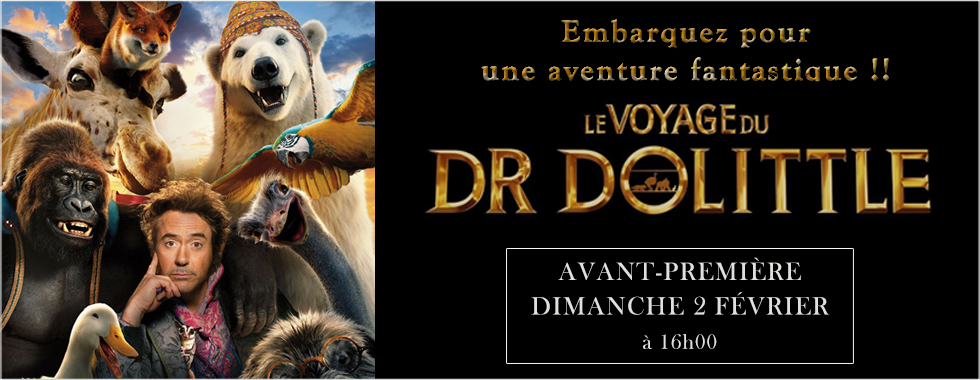 Photo du film Le Voyage du Dr Dolittle